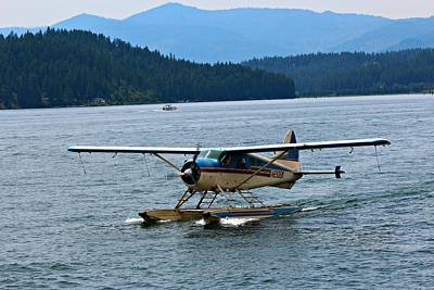 Smooth Landing On Lake Coeur D'alene Art Print