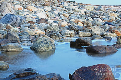 Photograph - Smooth Rocks by Ruth H Curtis
