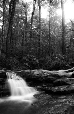 Waterfalls Photograph - Smooth Waterfall by Shelby  Young