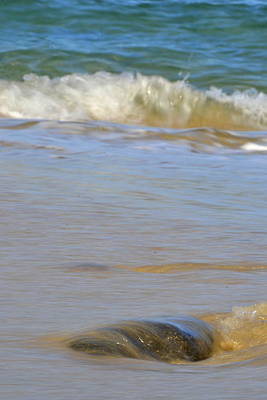 Summer Photograph - Smooth Waves by Agnes Bodizs