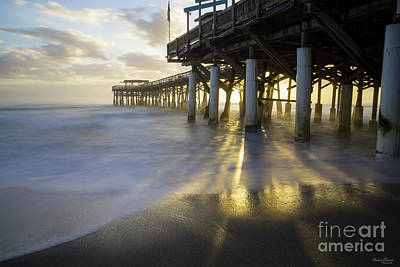 Photograph - Smooth Waves At Cocoa Pier by Jennifer White