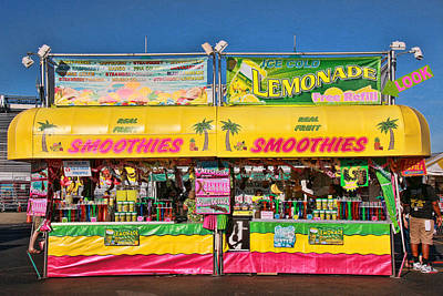 Rollercoaster Photograph - Smoothies by Allen Beatty