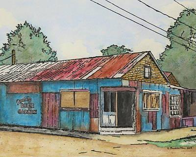 Smoot's Grocery Art Print by Sue Burkhalter