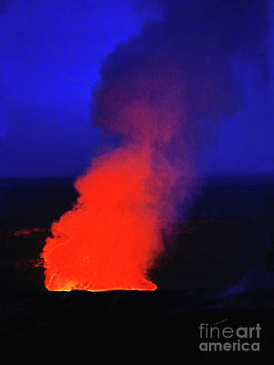 Photograph - Smouldering Kilauea by Patricia Griffin Brett