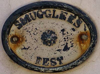 Photograph - Smugglers Rest Or Rust? by Richard Brookes
