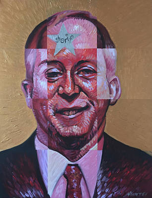 Politics Painting - Smugshot by Steve Hunter