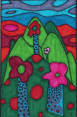 Dream Land Art Print by Brian Murray