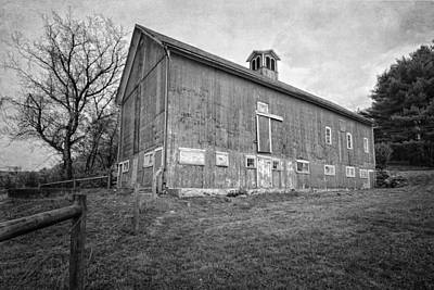 Photograph - Smyrski Farm Bw by Bill Wakeley