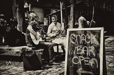Snack Bar Open Art Print by Bill Cannon
