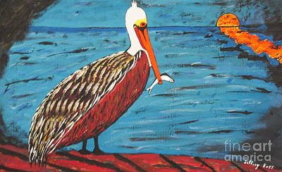 Painting - Snack Before Sunset by Jeffrey Koss