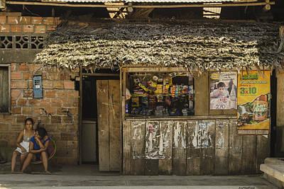 Photograph - Snack Shop - Iquitos, Peru by Allen Sheffield