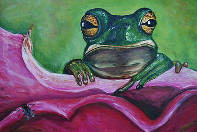 Painting - Snack Time by Debbie Baker