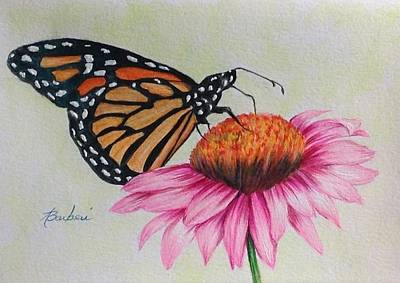 Drawing - Snacking by Anne Barberi