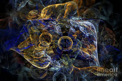 Digital Art - Snail Composition by Olga Hamilton