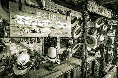 Photograph - Snail Creek Hat Company by Andy Crawford