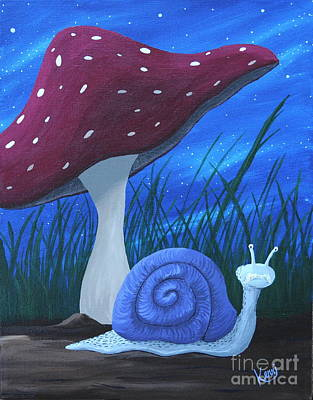 Painting - Snail Elliot by Kerri Ertman