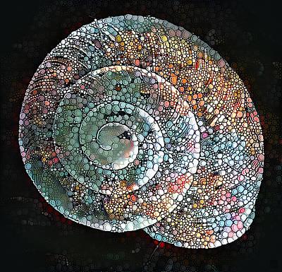 Snail Art Print by Roger Smith