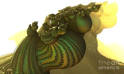 Digital Art - Snails Sunnyside Up by Jon Munson II