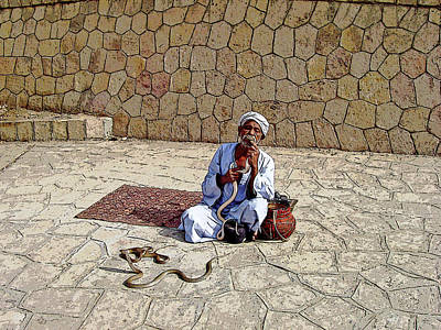 Photograph - Snake Charmer by Debbie Oppermann