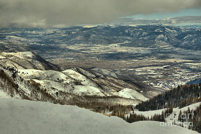 Photograph - Snake Creek Pass Winter Views by Adam Jewell