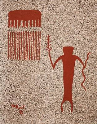 Painting - Snake Dance #3 by Ralph Root
