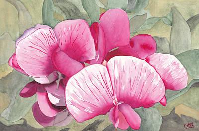 Painting - Snake Lake Wildflower by Ken Powers