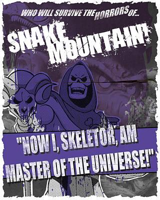 Snake Mountain Art Print by Jeff Beck