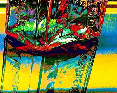 Digital Art - Snake Oil Delirium by Larry Beat