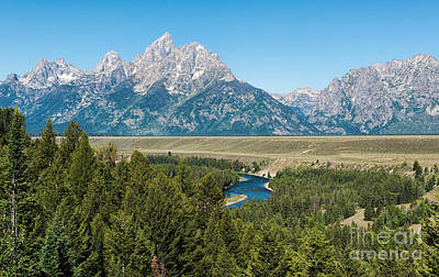 Photograph - Snake River And Tetons by Sharon Seaward