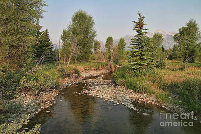 Photograph - Snake River At Tetons Base by Teresa Zieba