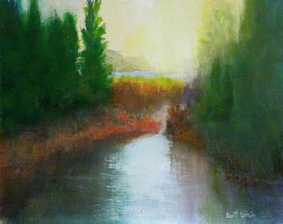 Snake River Canoe Trip Art Print