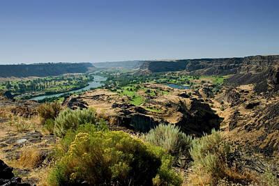 Photograph - Snake River Canyon by Brendon Bradley