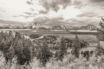 Snake River Overlook Grand Teton Art Print