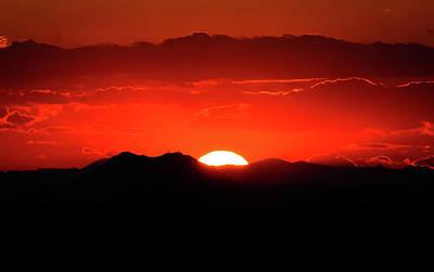 Snake River Plain Sunset Print by Greg Norrell