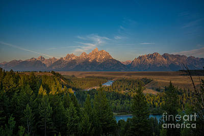 Reptiles Royalty-Free and Rights-Managed Images - Snake River Sunrise by Michael Ver Sprill