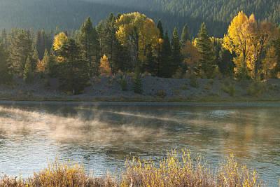 Photograph - Snake River Sunrise by Sandra Bronstein
