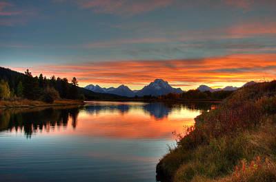 Photograph - Snake River Sunset by Steve Stuller