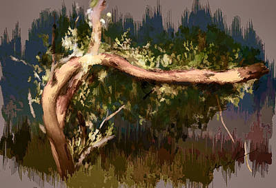 Digital Art - Snake Tree by Dale Stillman