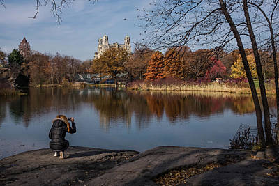Photograph - Snapping Turtle Pond by Cornelis Verwaal