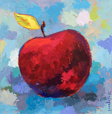 Education Painting - Snappy Happy A by Penelope Moore