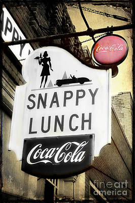 Snappy Lunch Art Print