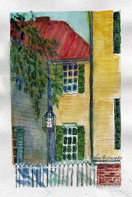 Painting - Snapshots - Savannah  by Doris Blessington