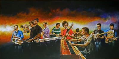 Painting - Snarky Puppy by Pascal Martos