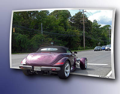 Tricked-out Cars Photograph - Snazzy by Brian Wallace
