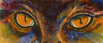 Painting - Sneak Peek by Kim Shuckhart Gunns