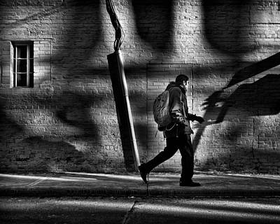 Photograph - Sneakin' Thru The Alley by Brian Carson