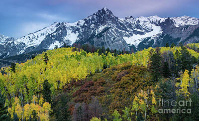 Ralph Lauren Photograph - Sneffels Range And Mears Peak In Fall  by Gary Whitton