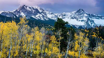 Ralph Lauren Photograph - Sneffels Range In The Fall - Colorado by Gary Whitton