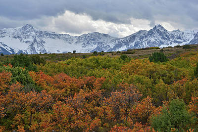 Photograph - Sneffels Ranger From Dallas Divide by Ray Mathis