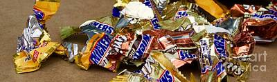 Photograph - Snickers Wrapper Ruins by Terri Thompson